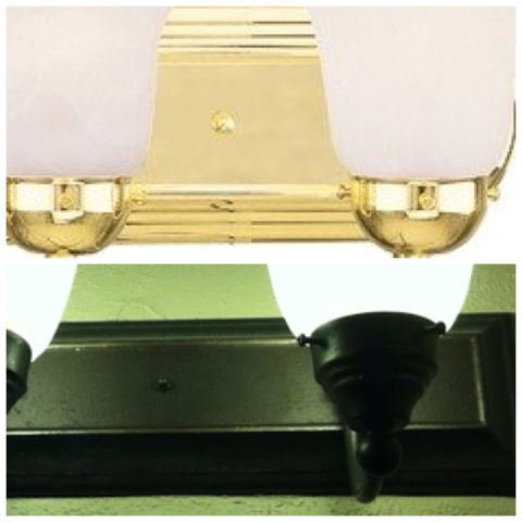 refinishing brass bathroom fixtures dixie of all trades refinish your polished brass light 20139