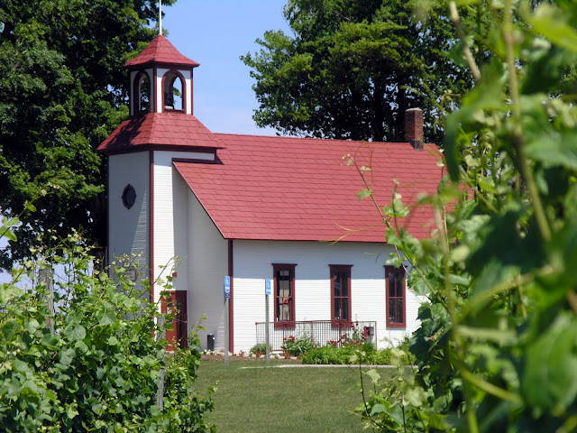 Peninsula Cellars. From  Michigan's Small Town Treasures: Wineries & Dinner on Mission Peninsula