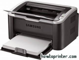 Remedy resetup Samsung ml 1861 printer toner cartridge – red light turned on & off repeatedly