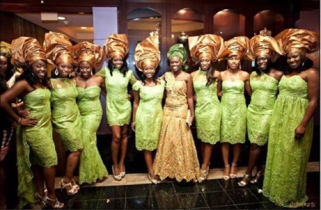 African Wedding Party