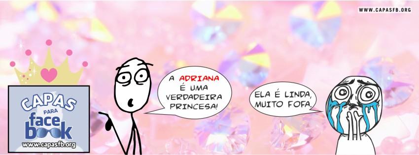 Capas para Facebook Adriana