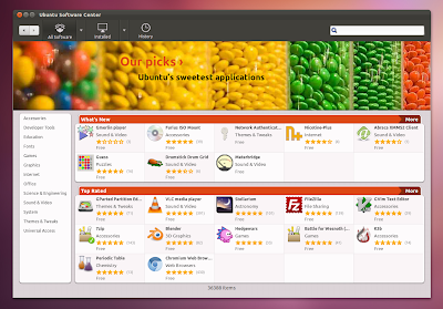 Ubuntu Software Center GTK3 screenshot