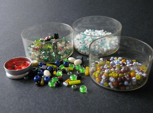 Destash Challenge Seed Beads