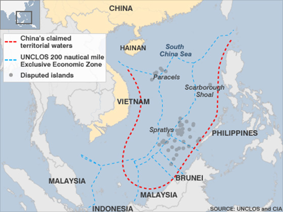China claims to South China Sea