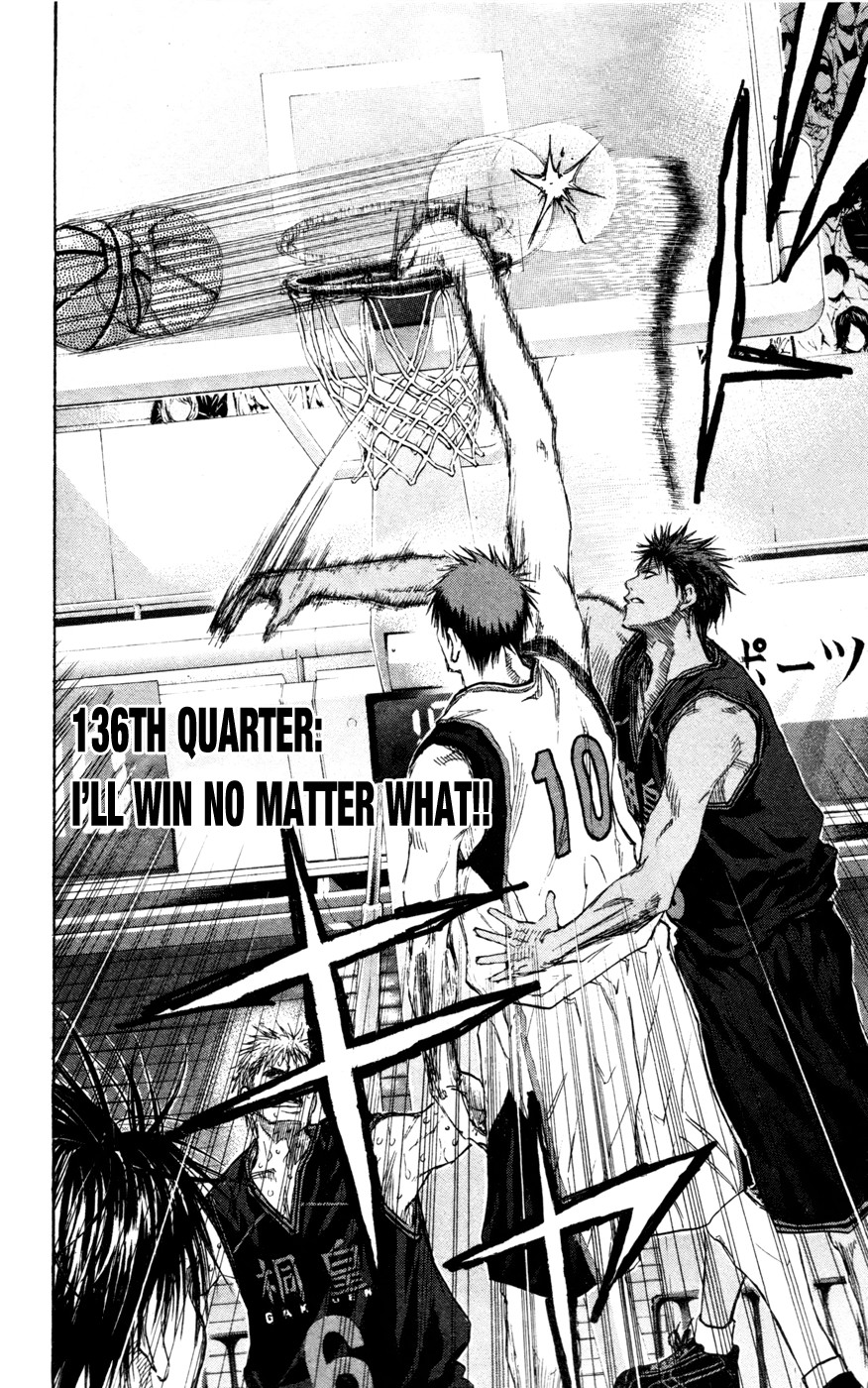 Kuroko no Basket Manga Chapter 136 - Image 08