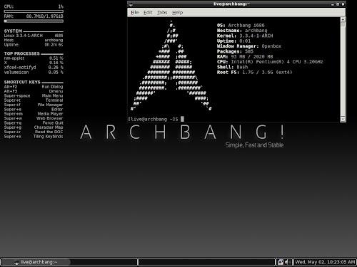 ArchBang 2012.05