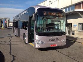 La EMT prueba un autobús eléctrico fabricado en España