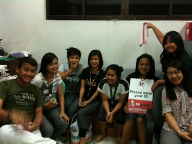 Engr. Pates together with the casts and crew (Mimi, Jecka, Rona, Mhiles, Jamie Rose, Ericka and April)