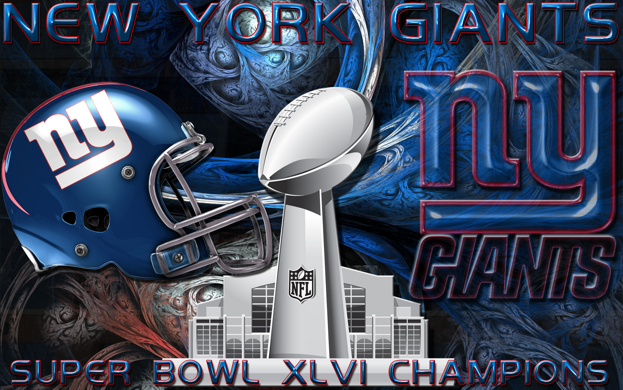 New York Giants Super Bowl XLVI Champions Wallpaper