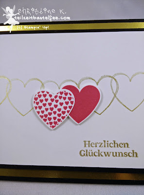 Stampin' Up!, In{k}spire_me, Hochzeitskarte, Wedding Card, Hearts a Flutter, Color Challenge, Duftes Dutzend, Delightful Dozen
