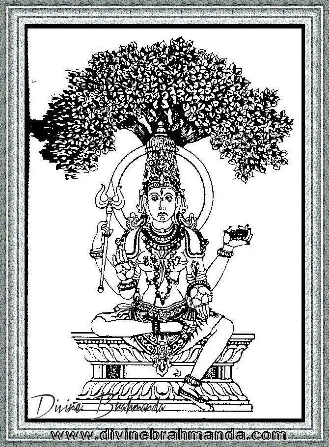 Soundarya Lahari Sloka, Yantra & Goddess To Defend Nightmares - 39
