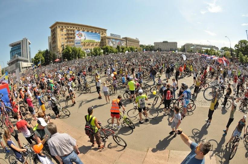 велодень 2013 в Харькове