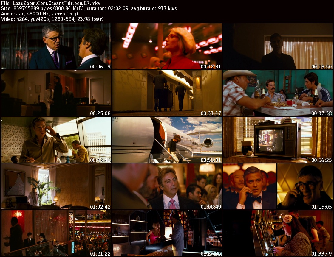 movie screenshot of Ocean's Thirteen (2007) fdmovie.com