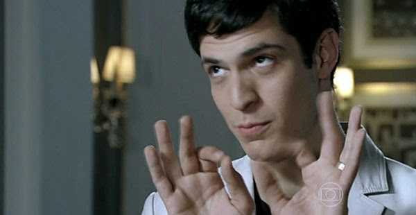 """Félix (Mateus Solano), da novela """"Amor à Vida"""""""