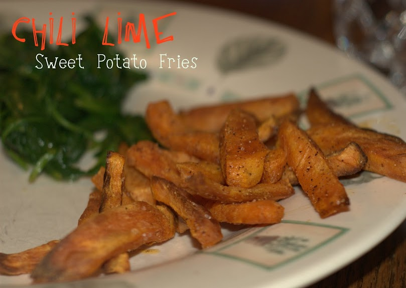 Chili Lime Sweet Potato Fries