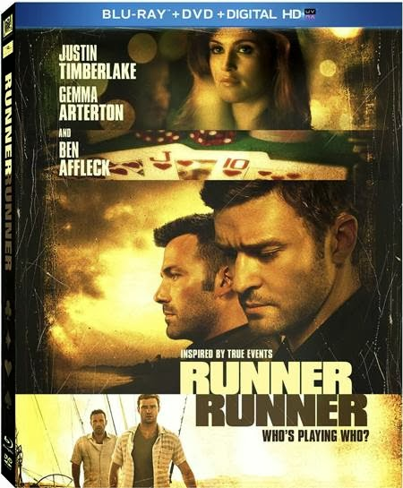 Runner Runner [Blu-ray]  Starring Justin Timberlake, Ben Affleck and Anthony Mackie