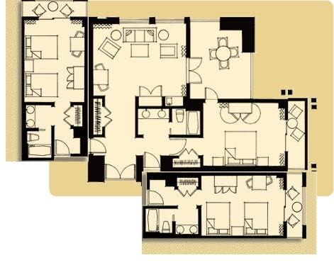 Bedroom Suites Disney Grand Californian 2 Bedroom Suite