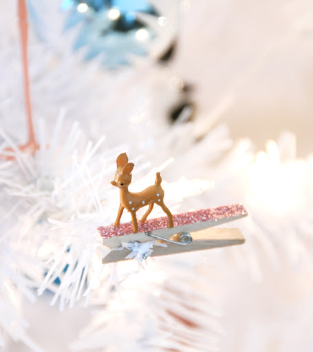 Hey look at that! Once it's removed from a gift, your topper doubles as an adorable ornament!