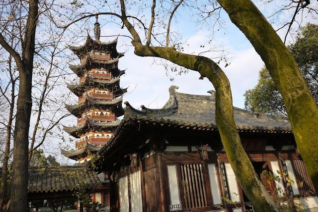 Yingtian Pagoda in Shaoxing