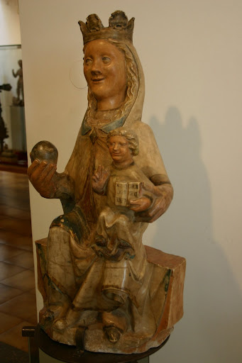 mare de déu amb el nen ~ palera