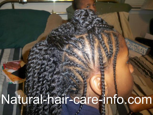 black long hair styles