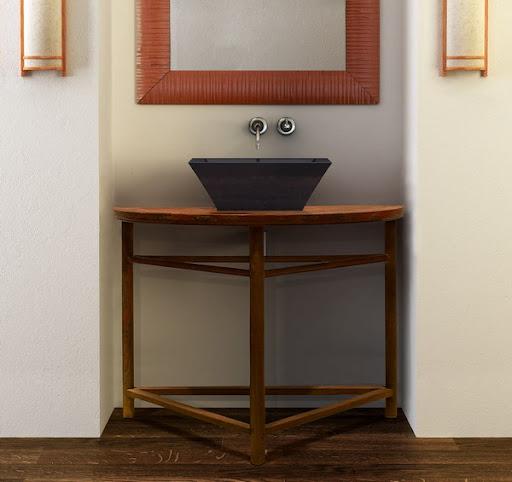 single bathroom black vanity sink asian furniture