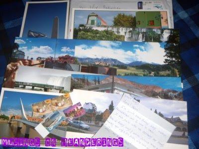 postcards. souvenirs, Argentina, Buenos Aires