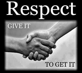 Wordless Wednesday 44 Respect