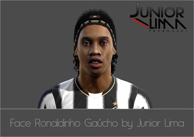 Ronaldinho Gaúcho Face - PES 2013