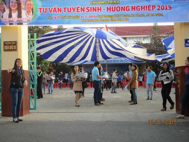 Tư vấn tuyển sinh năm 2015 tại Trường THPT Buôn Ma Thuột