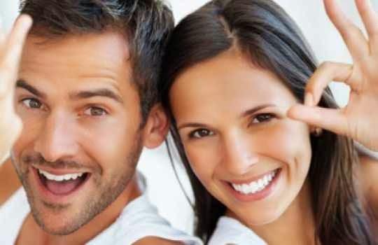 Momentos de felicidad en pareja