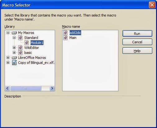 OpenOffice org Forum :: Request for a macro: add words to spell