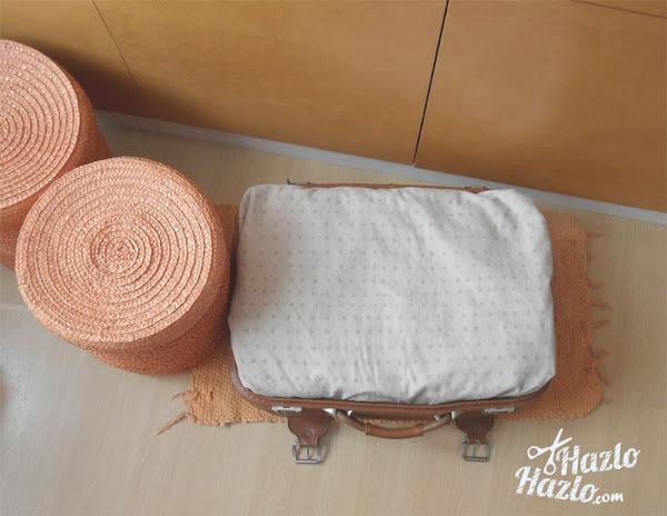 Como reciclar maleta