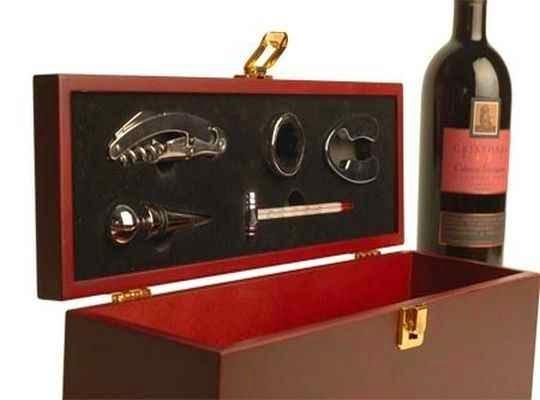 Set completo para destapar vinos