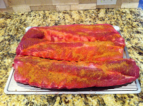 Ribs Big Green Egg