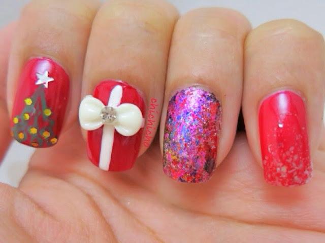 聖誕節指甲