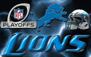 Detroit Lions 2012 Playoffs Wallpaper