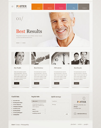 Investment Business WordPress Theme