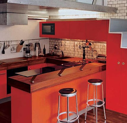 Cocinas peque as ideas para decorar cocinas peque as for Muebles de cocina pequena