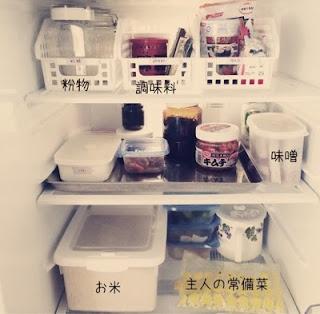シンプルライフ冷蔵庫中身収納