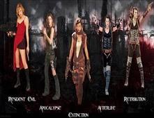 سلسلة افلام الاكشن Resident Evil