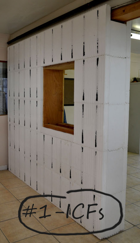 Wall shopping ana white woodworking projects for Insulated concrete forms disadvantages
