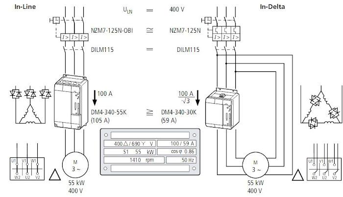 softstarter    DM4       Scheme Electrice        Circuit       Diagram