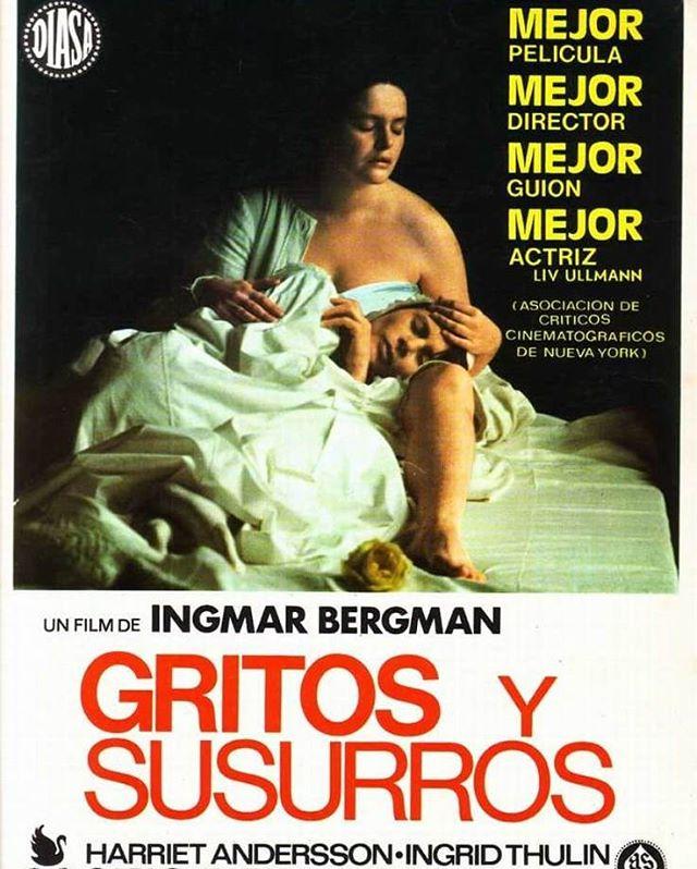 Gritos y susurros (1972, Ingmar Bergman)