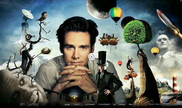 *讓我們來一窺金凱瑞的奇妙世界吧!|Jim Carrey - Official Web Site 3