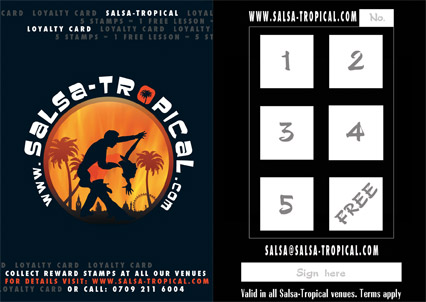 Salsa-tropical Loyalty Card Image