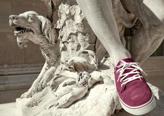 Obras maestras de la escultura con look hipster 6