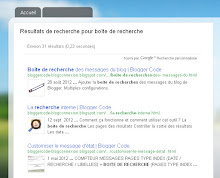 Intégrer Google Recherche dans les pages recherche du blog