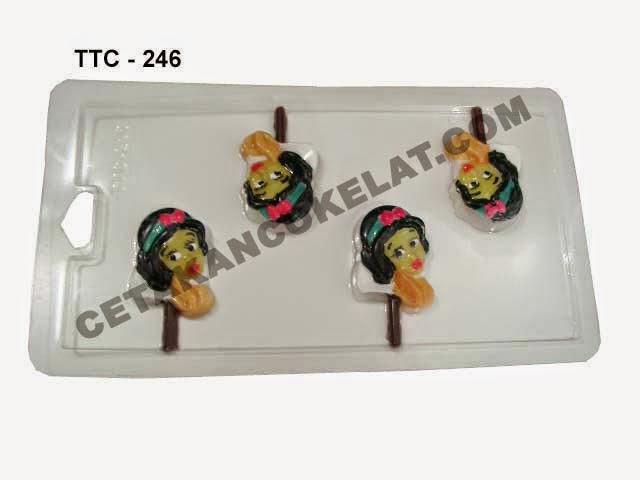 Cetakan Coklat TTC246 Princess Cinderella Snow White
