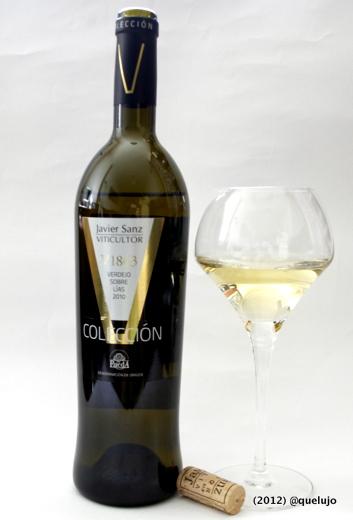 Vino blanco V 1863 añada 2010. Colección V de Javier Sanz Viticultor (Denominación de Origen Rueda)